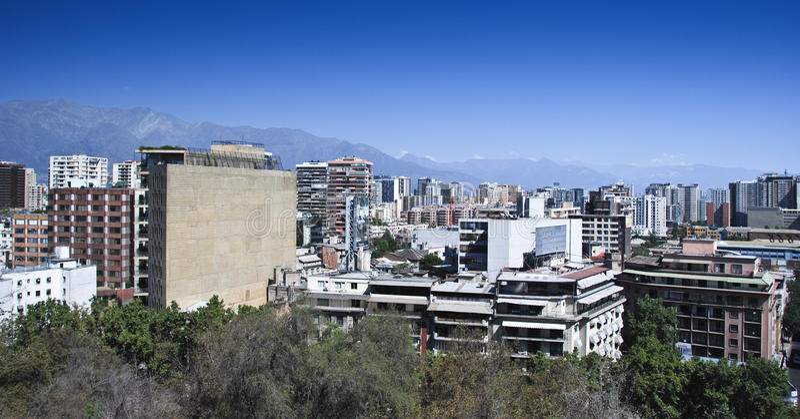 Santiagode Chile lizenzfreies stockbild