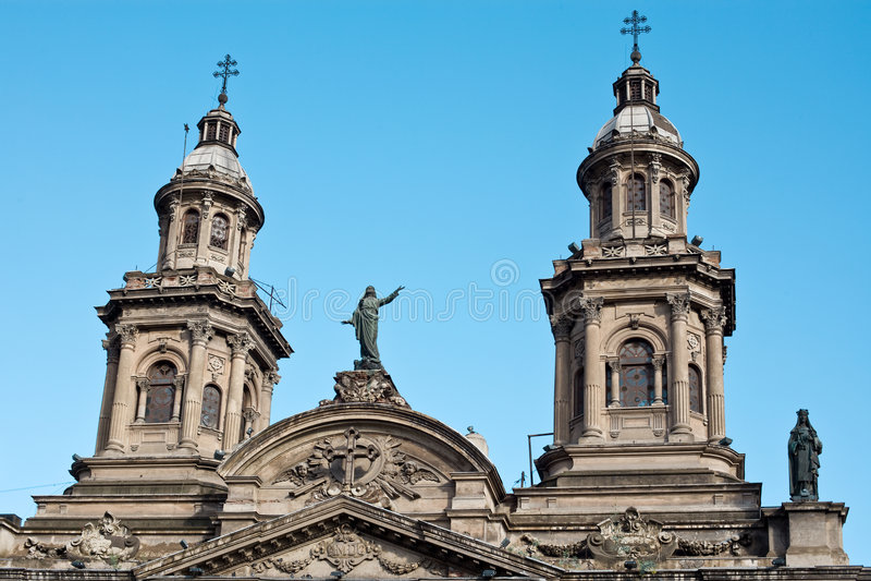 Download Santiagode Chile stockfoto. Bild von amerika, santiago - 9077392