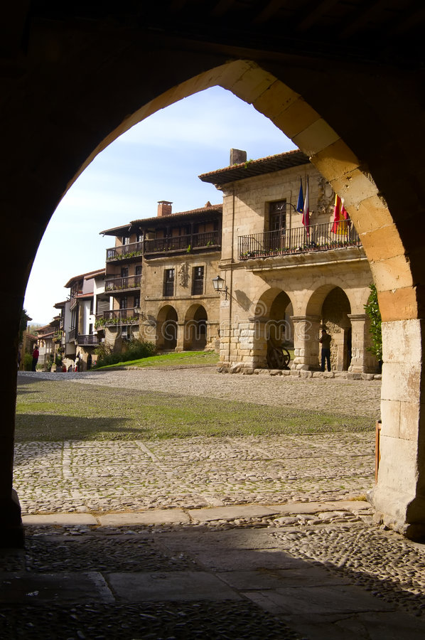 Santillana Del Mar immagine stock