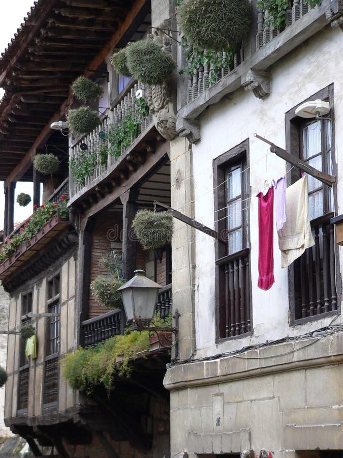 Santillana del Mar, Cantabrië (Spanje). royalty-vrije stock afbeelding