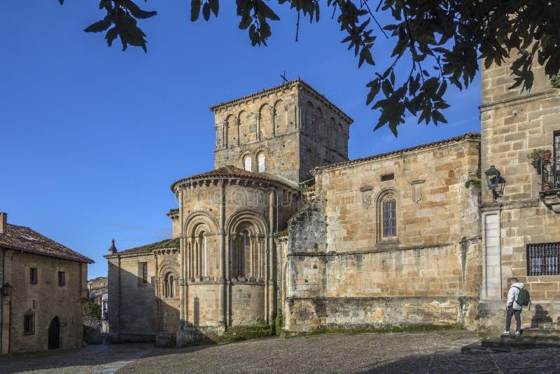 Santillana del Mar - Cantabrië - Spanje royalty-vrije stock foto