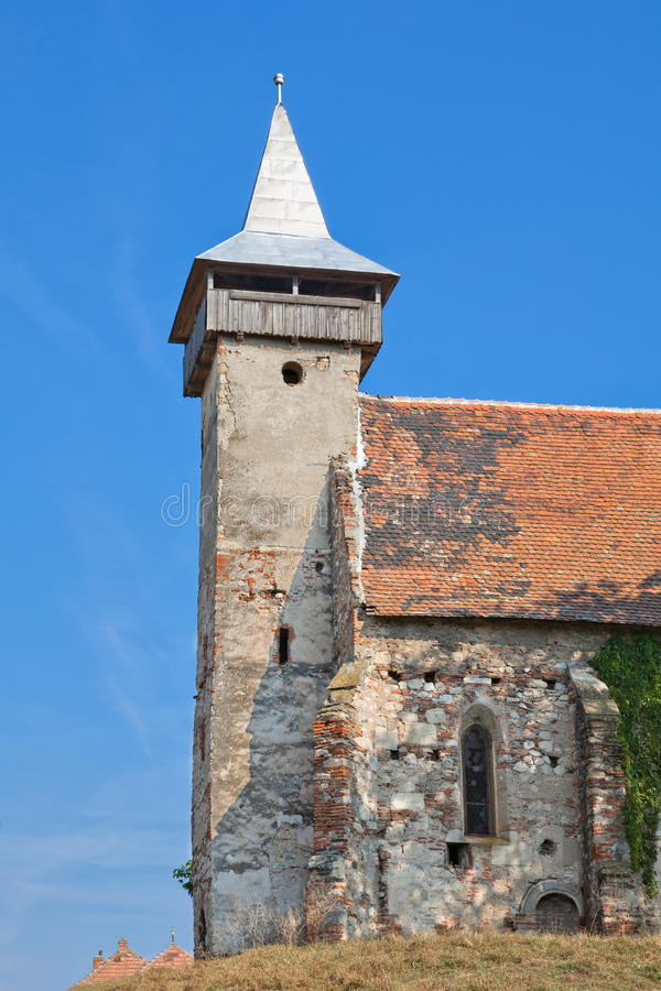 Santimbru a repris l'église photos stock