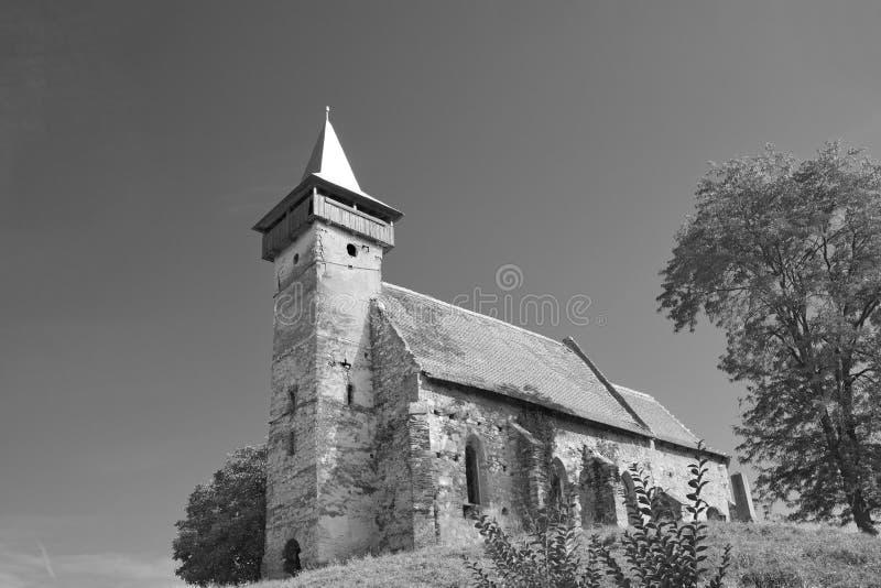 Santimbru verbesserte Kirche stockfoto