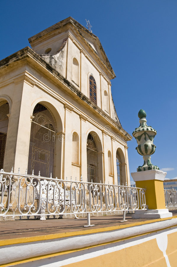 Santisima Trinidad Church, Trinidad, Cuba royalty free stock images