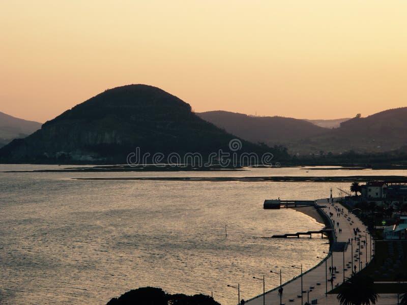 Santoña, krajobraz zdjęcia stock