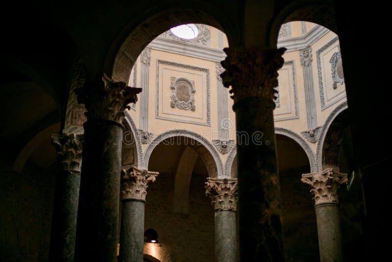 Santo-ahorrador de la catedral en Aix-en-Provence Francia fotografía de archivo libre de regalías