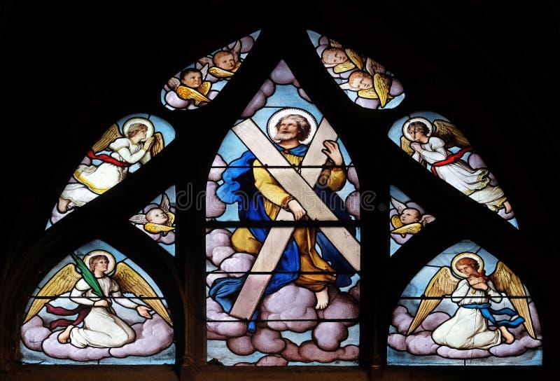 Santo Andrew foto de archivo libre de regalías