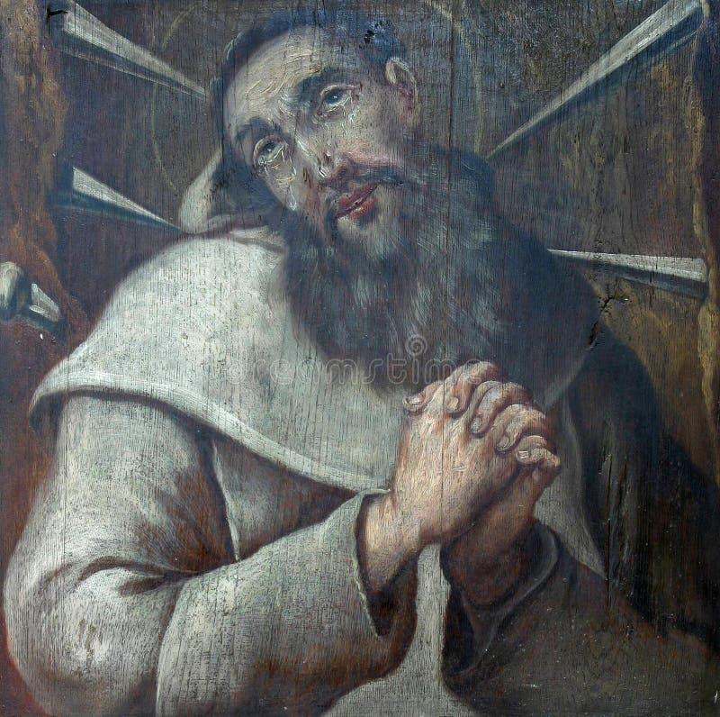 Santo Andrew fotografía de archivo libre de regalías