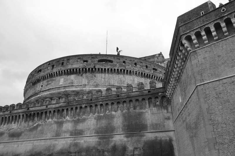 Santo Angel Castle fotos de archivo