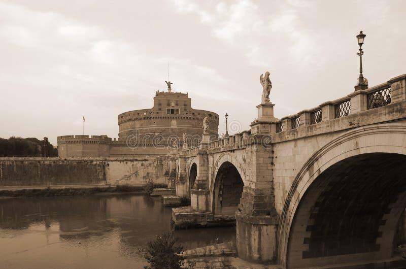 Santo Angel Castle imagen de archivo libre de regalías
