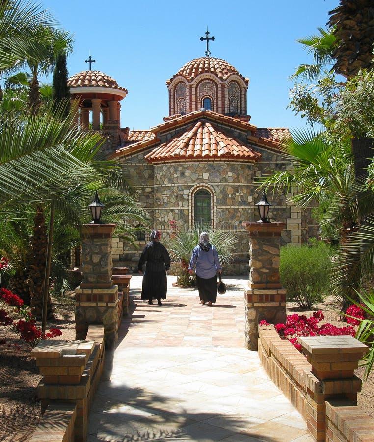 Santo Anthony Russian Orthodox Church Monastery AZ foto de archivo libre de regalías
