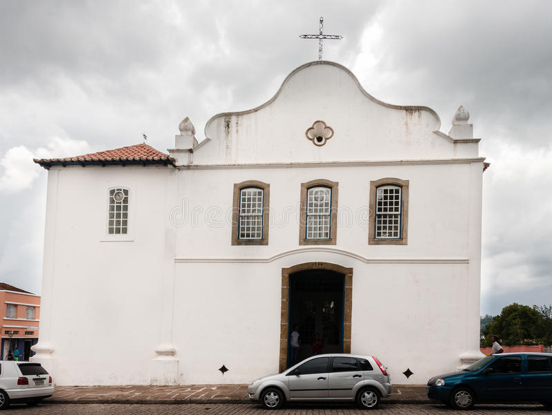 Santo Antonio Church Lapa Parana royaltyfria foton