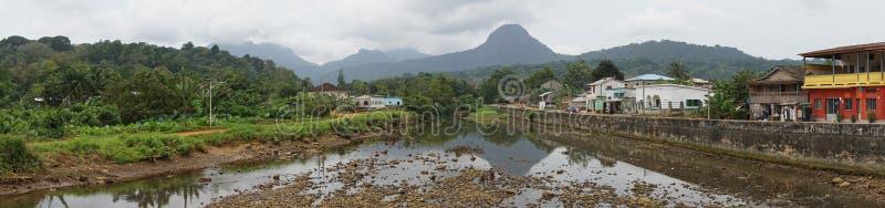Santo Antonio, isla de Principe, Sao Tome and Principe fotos de archivo libres de regalías
