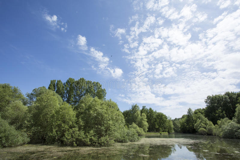 Santo Cassien del lago fotos de archivo libres de regalías