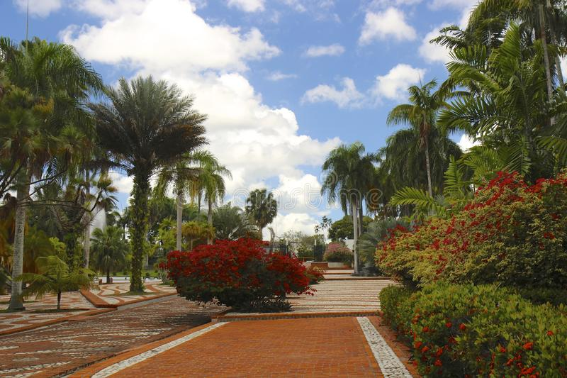 Santo Domingo. Botanical garden at Easter royalty free stock photography