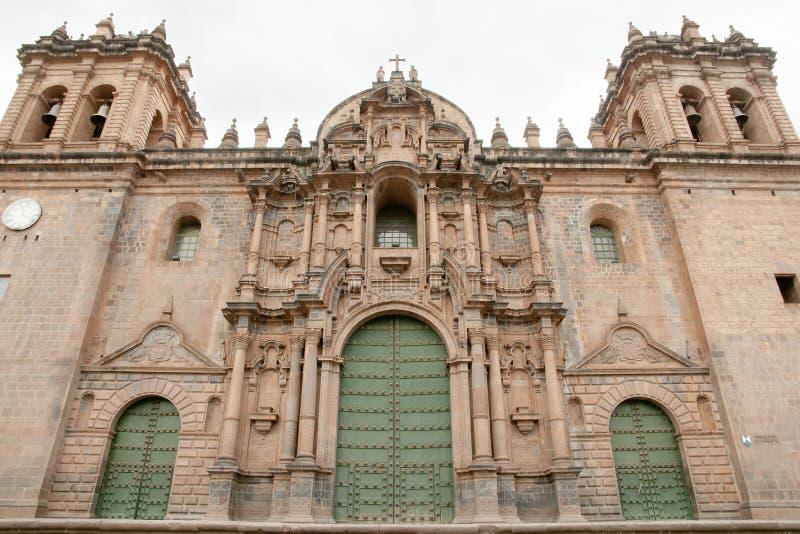 Santo Domingo Cathedral - Cusco - Peru. Santo Domingo Cathedral in Cusco - Peru royalty free stock images
