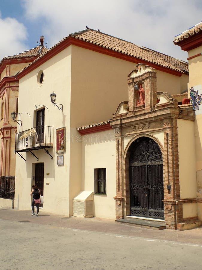 Santo Domingo Church-Malaga-Andalusia royalty-vrije stock afbeelding