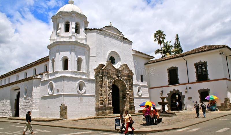 Santo Domingo Church, Popayan, Colombia immagini stock libere da diritti