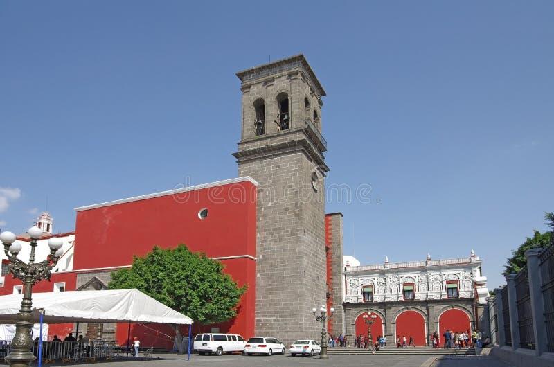 Santo Domingo church royalty free stock photography
