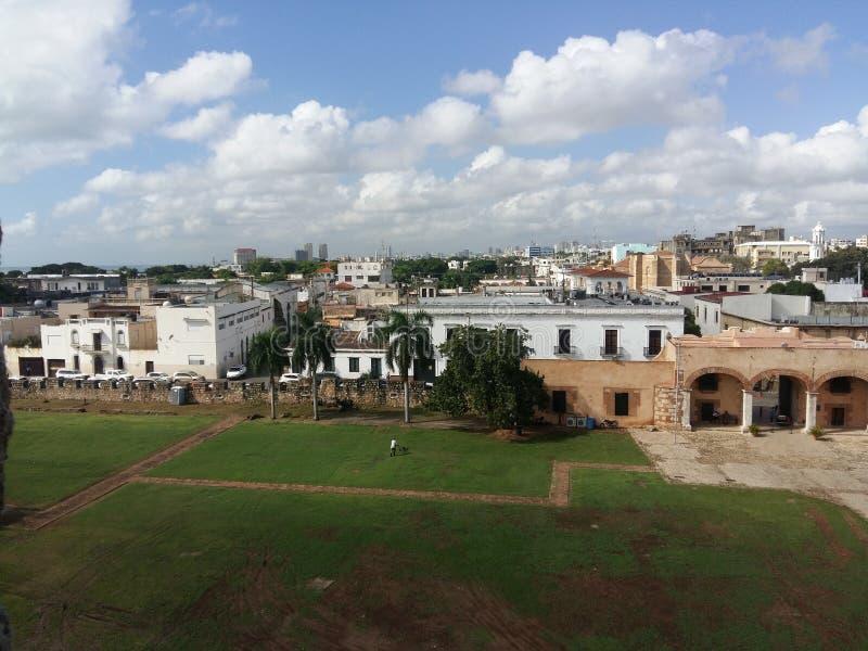 Santo Domingo Colonial royalty-vrije stock foto