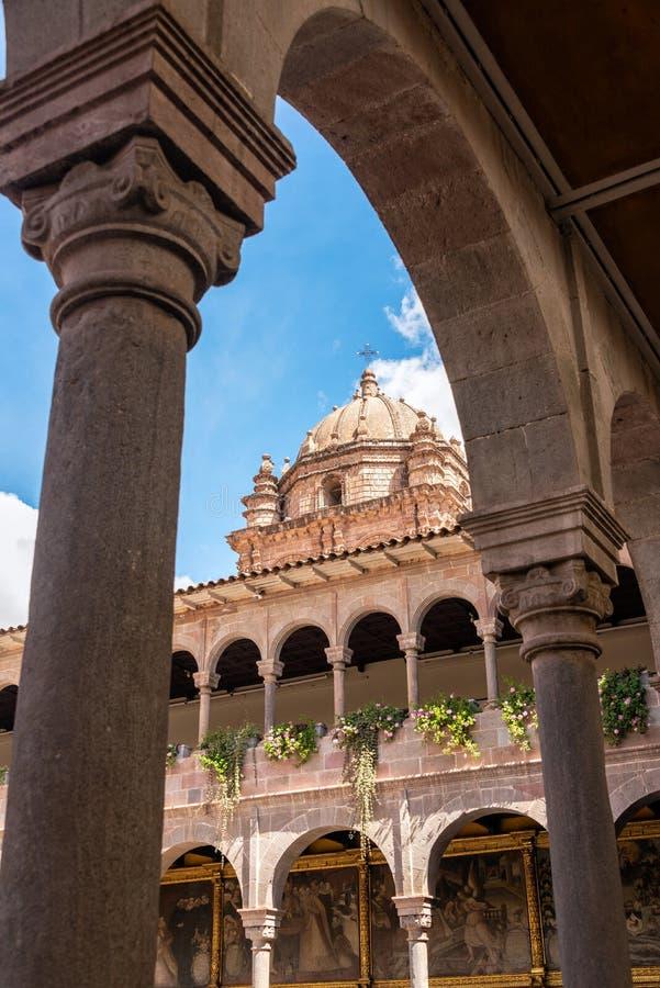 Santo Domingo Convent em Cuzco fotos de stock royalty free