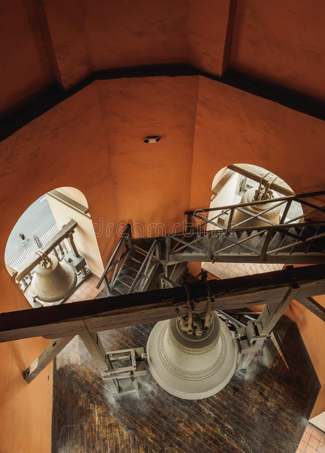 Santo Domingo Convent in Lima, Peru royalty free stock photo