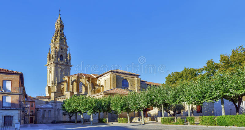 Santo domingo de la calzada la rioja. Spain stock photos