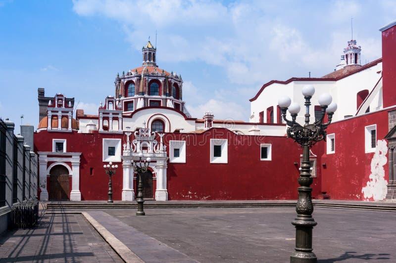 Santo Domingo de Puebla fotografie stock libere da diritti