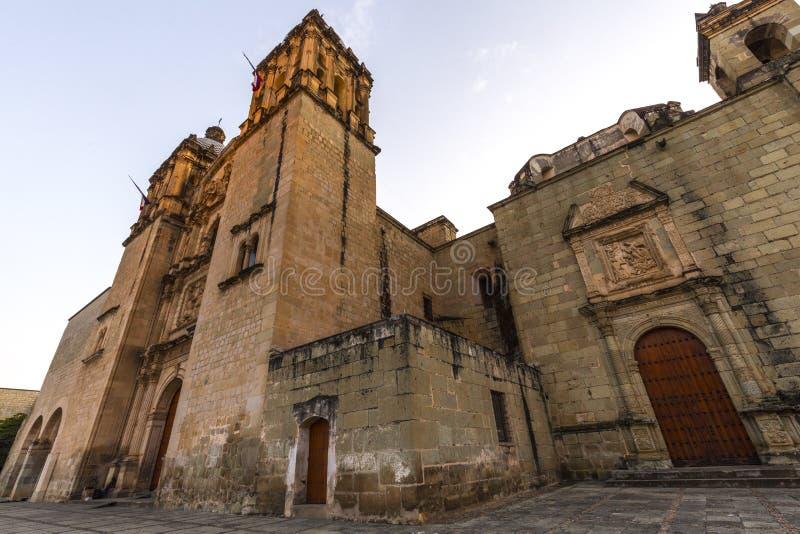 Santo Domingo en Oaxaca, México foto de archivo libre de regalías
