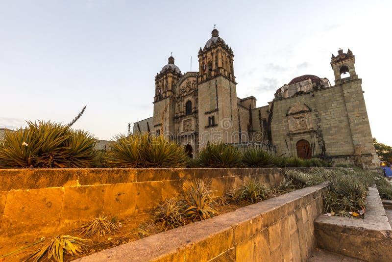 Santo Domingo en Oaxaca, México fotografía de archivo libre de regalías
