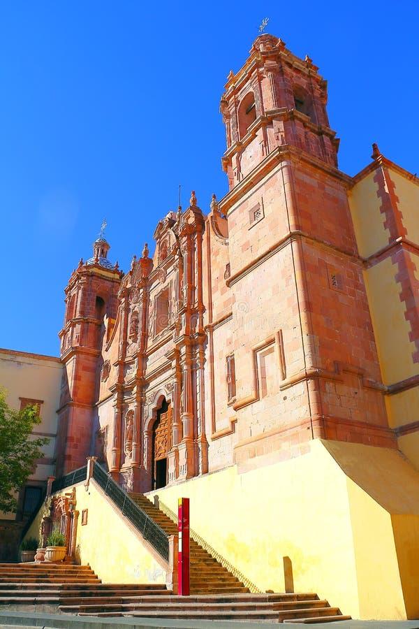 Santo Domingo kościół V zdjęcie royalty free
