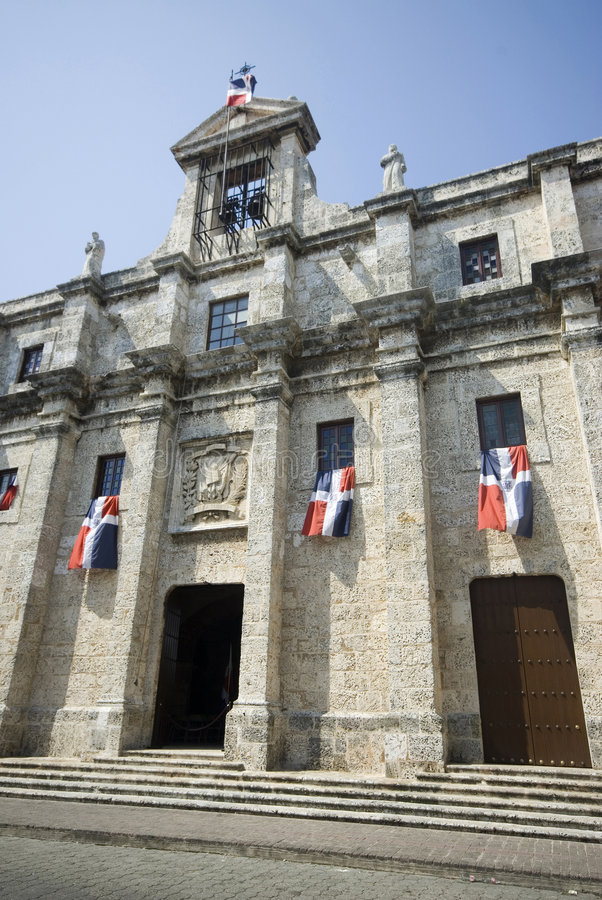 santo Domingo kościoła obrazy stock