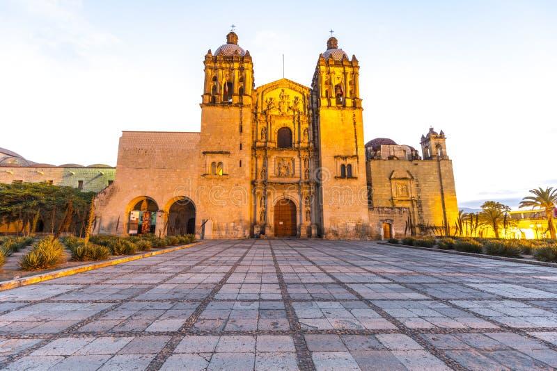 Santo Domingo Plaza. In Oaxaca, Mexico royalty free stock photography
