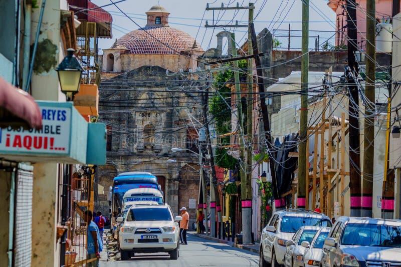 SANTO DOMINGO, REPÚBLICA DOMINICANA - NOVIEMBRE DE 2015 fotos de archivo