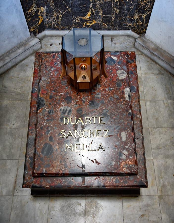 Santo Domingo, Repubblica dominicana Altar de la Patria, l'altare della patria fotografie stock
