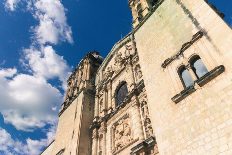 Santo Domingo Temple en Oaxaca México fotos de archivo