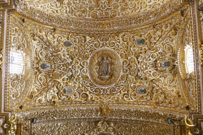 Santo domingo temple XVIII royalty free stock image