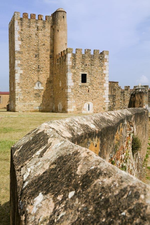 santo för domingo fästningozama royaltyfria bilder
