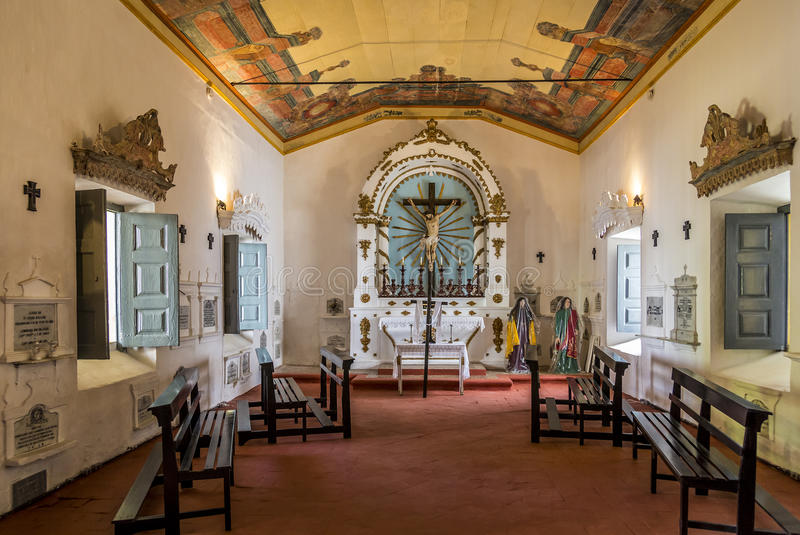 Santo Francis Convent en Olinda, Pernambuco, el Brasil fotografía de archivo