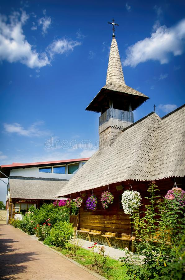 Santo George Monastery de Giurgiu, Rumania fotos de archivo