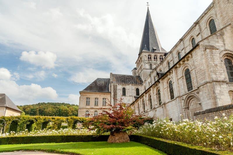 Santo Georges de Boscherville Abbey fotos de archivo libres de regalías