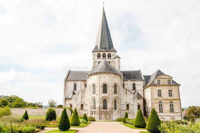 Santo Georges de Boscherville Abbey foto de archivo libre de regalías