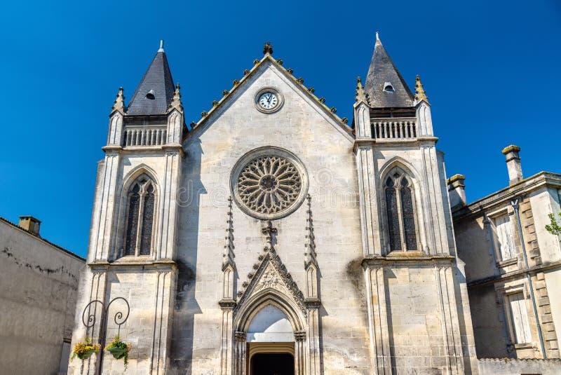 Santo Jacques Church en el coñac, Francia imagenes de archivo