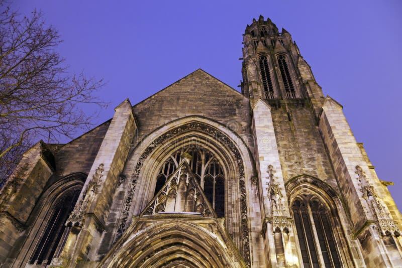 Santo Jean-Baptiste Church en Arras foto de archivo libre de regalías