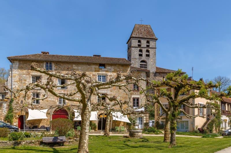 Santo-Jean-de-Cole, Francia fotos de archivo
