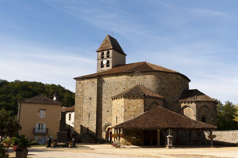 Santo John Church Saint-Jean de Cole imagenes de archivo