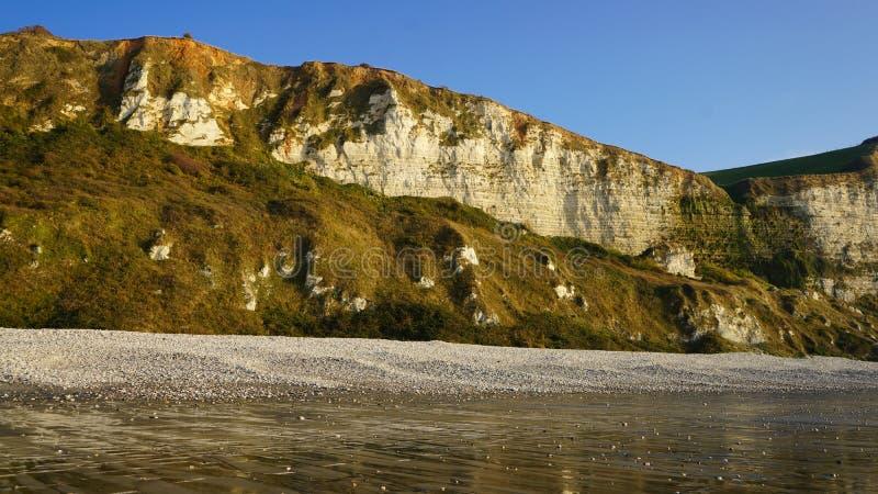 Santo Jouin, playa de Normandía, Francia fotografía de archivo libre de regalías