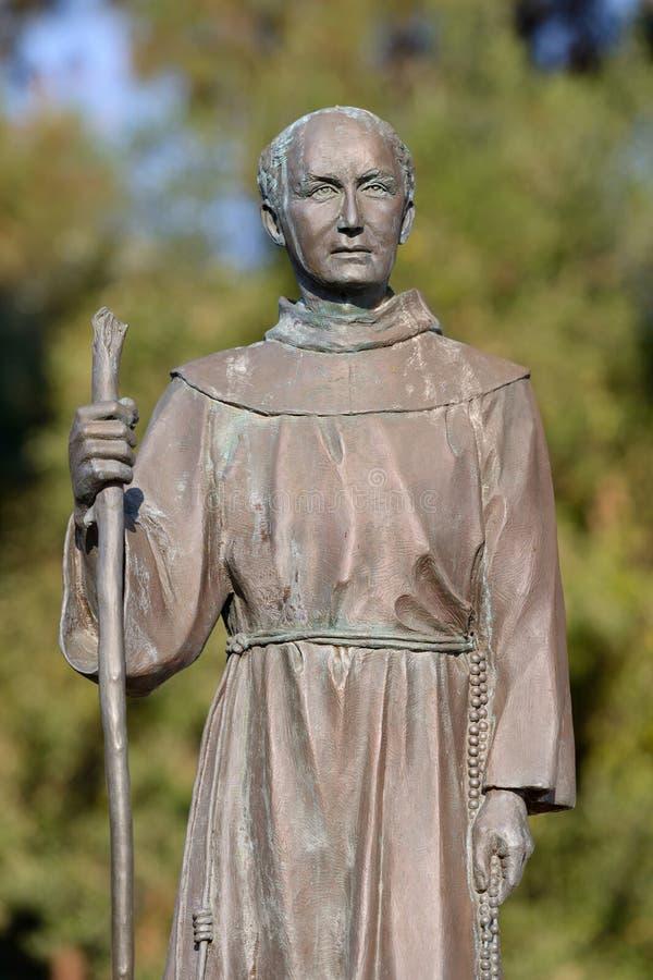 Santo Junipero Serra imagen de archivo libre de regalías