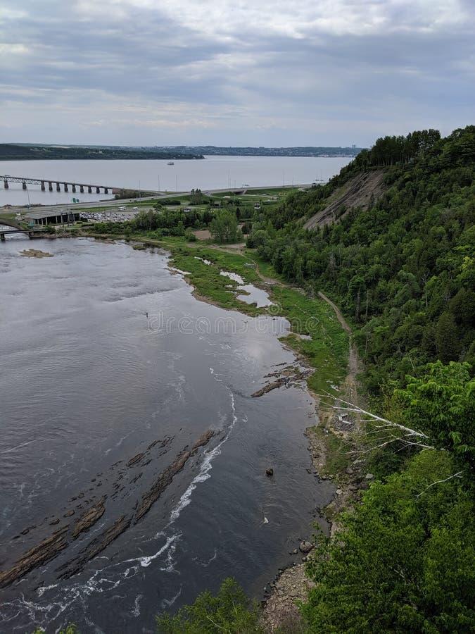Santo Lawrence River fotografía de archivo