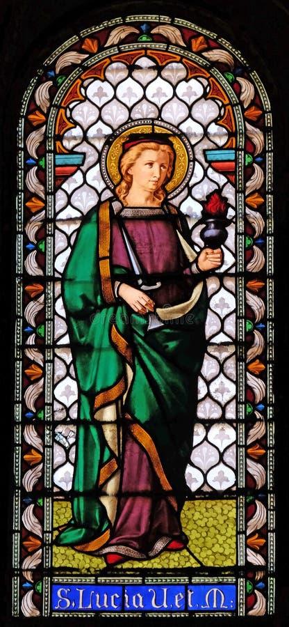 Santo Lucía imagenes de archivo